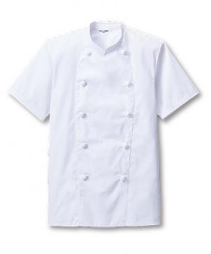 半袖コックコート(男女兼用/~5Lまであり)