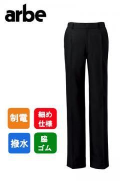 脇ゴムワンタックメンズパンツ(撥水・制電)