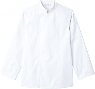 ユニフォームや制服・事務服・作業服・白衣通販の【ユニデポ】コックコート〔長袖〕(兼用)