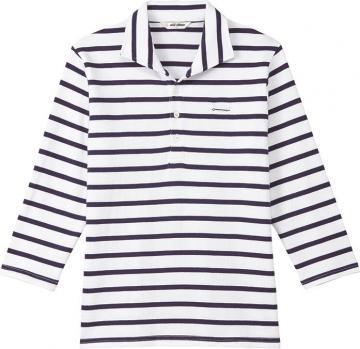ユニフォームや制服・事務服・作業服・白衣通販の【ユニデポ】バスクシャツ(七分袖・兼用)