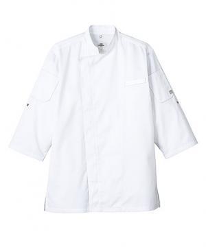 【熱中症対策】クールベントコックシャツ(七分袖/メッシュ素材/男女兼用)