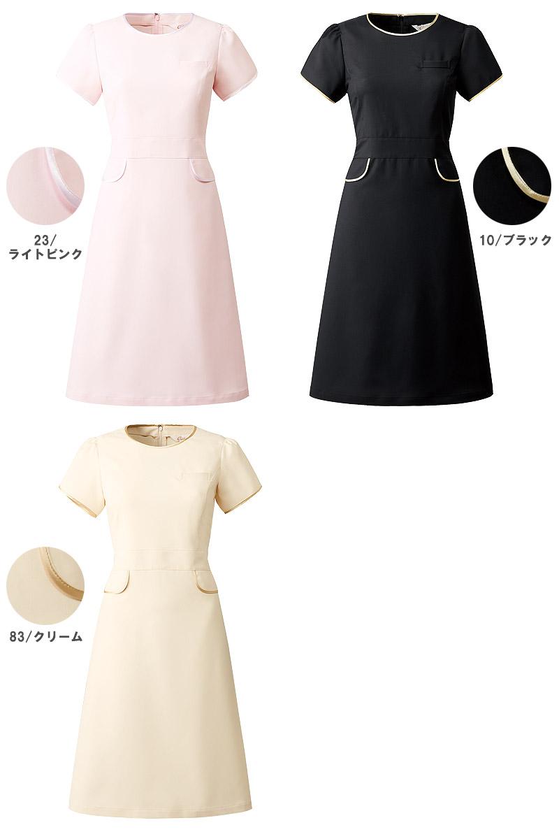 【全3色】チューリップスリーブワンピース