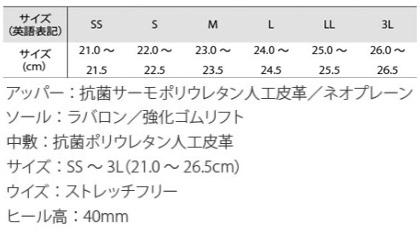 サンダル(2WAY仕様) サイズ詳細