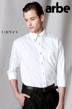 ボタンダウンシャツ(七分袖)[兼用]
