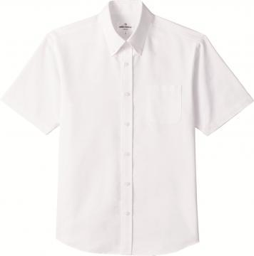 作業服の通販の【作業着デポ】【全4色】ボタンダウンシャツ(半袖・兼用)