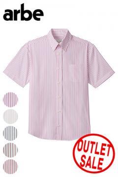 【全6色】ボタンダウンシャツ(半袖・兼用)