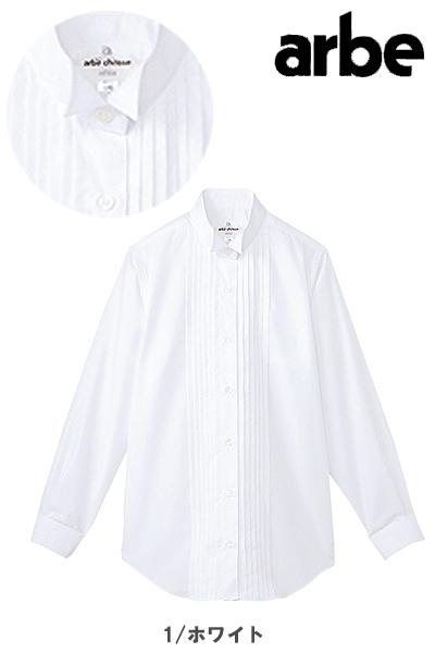 ピンタックウイングカラーシャツ〔女〕