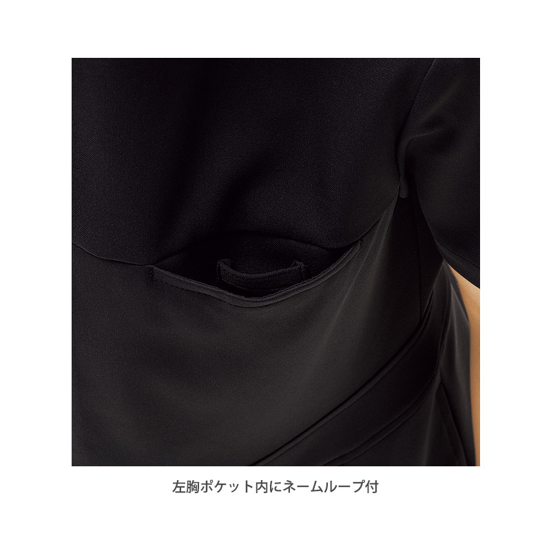 【MICHEL KLEIN】ミッシェルクラン プリーツワンピース