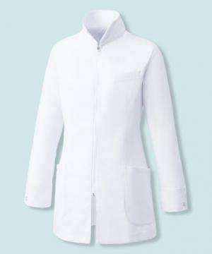 エステサロンやリラクゼーションサロン用ユニフォームの通販の【エステデポ】【Mizuno】ミズノ ハーフコート白衣[女]