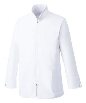 白衣や医療施設用ユニフォームの通販の【メディカルデポ】【Mizuno】ミズノ ハーフコート 白衣[男]