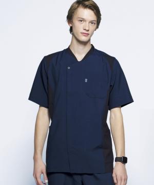 白衣や医療施設用ユニフォームの通販の【メディカルデポ】【Mizuno】ミズノ メンズスクラブ 白衣