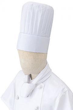 ユニフォームや制服・事務服・作業服・白衣通販の【ユニデポ】山高帽(コック帽)