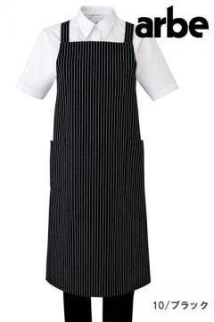 コックコート・フード・飲食店制服・ユニフォームの通販の【レストランデポ】エプロン(ストライプ柄)