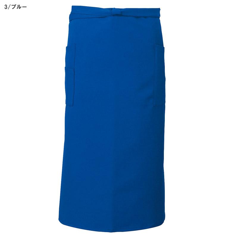 【9色】ソムリエエプロン(ストレッチ・撥油・制電/丈75㎝)