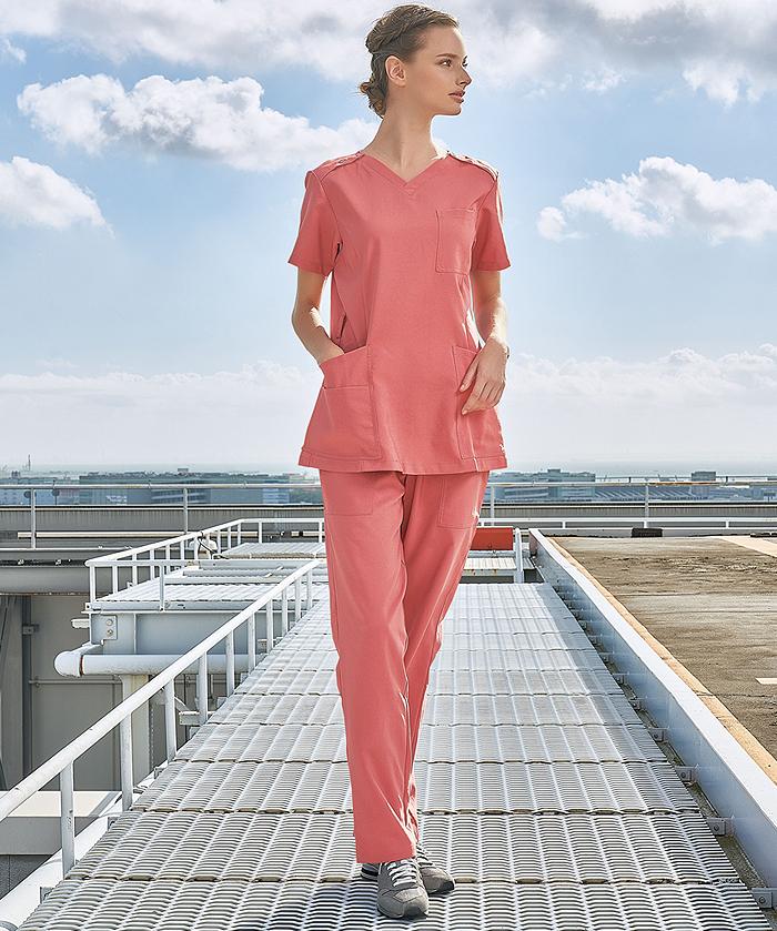 【Dickies】ディッキーズ ビンテージストレッチストレートパンツ(男女兼用)