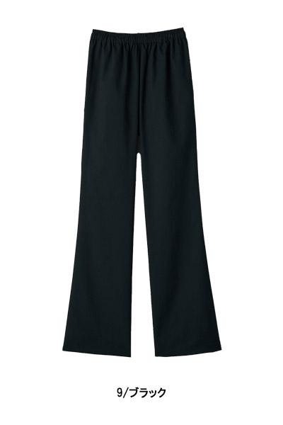 【全5色】スクラブ用ブーツカットパンツ(レディス)