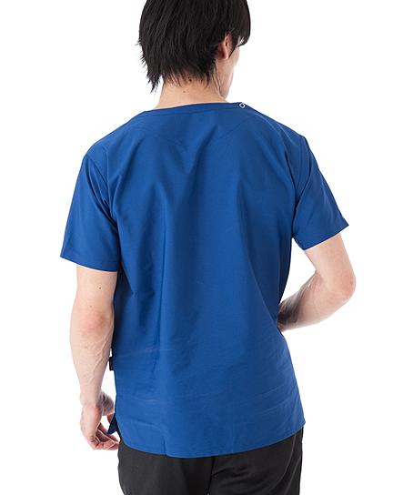 【全9色】PHS携帯ポケット付スクラブ 白衣(男女兼用)