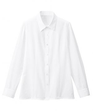 ユニフォームや制服・事務服・作業服・白衣通販の【ユニデポ】【全3色】ブラウス(長袖)