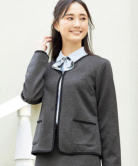 【3色】ニットジャケット(エスウールニット)