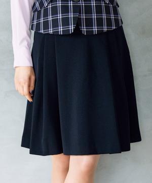 【2色】ソフトプリーツスカート(バックアップカイロポケット付)