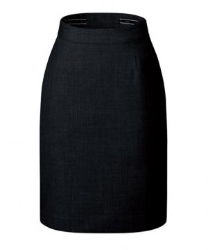 ユニフォームや制服・事務服・作業服・白衣通販の【ユニデポ】【全2色】バックアップウエストタイトスカート