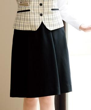 ユニフォームや制服・事務服・作業服・白衣通販の【ユニデポ】ソフトプリーツスカート(マニフィーレ)