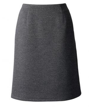 ベルトレスAラインスカート(エスウールニット)