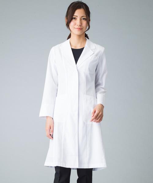 【ワコール】レディースドクターコート白衣(軽量素材)