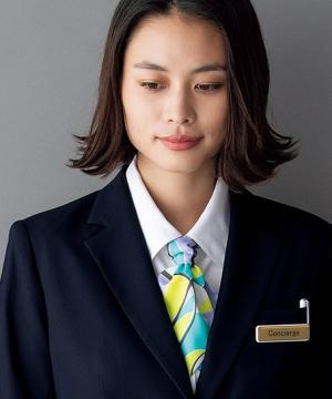 ユニフォームや制服・事務服・作業服・白衣通販の【ユニデポ】ロングスカーフ(パステルカラー)