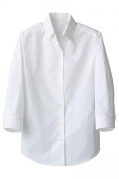 コックコート・フード・飲食店制服・ユニフォームの通販の【レストランデポ】ボタンダウンシャツ(女性用)