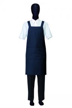 ユニフォームや制服・事務服・作業服・白衣通販の【ユニデポ】胸当てエプロン