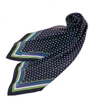 ユニフォームや制服・事務服・作業服・白衣通販の【ユニデポ】【全2色】スカーフ(ドット柄)