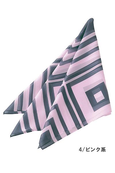 【3色】スカーフ(スクウェア柄)