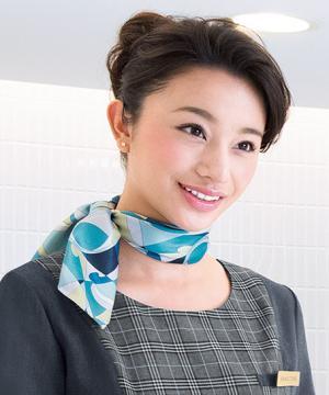 エステサロンやリラクゼーションサロン用ユニフォームの通販の【エステデポ】【2色】スカーフ