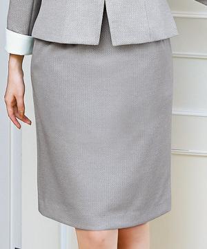 ユニフォームや制服・事務服・作業服・白衣通販の【ユニデポ】【3色】スカート(ヘリンボーンニット)
