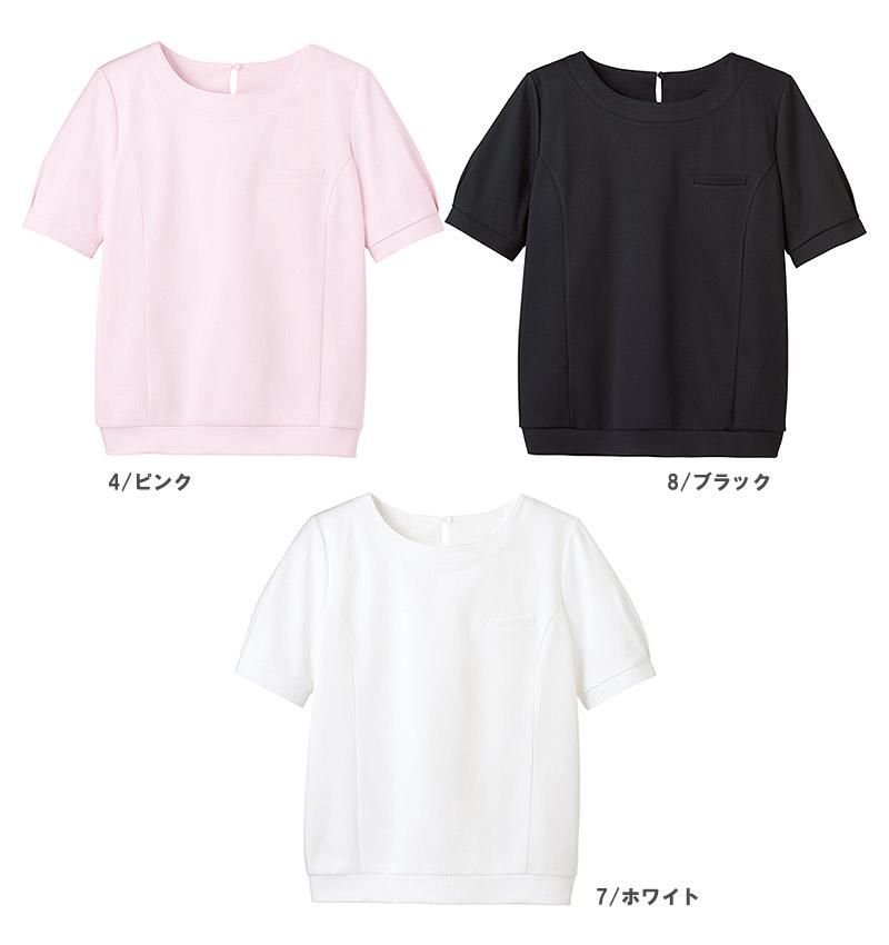 【全3色】パフ袖オーバーブラウスT