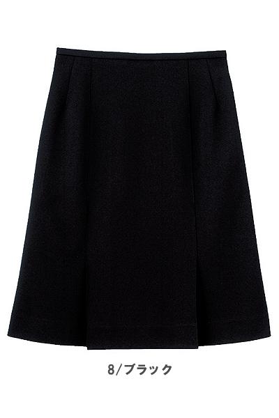 【全2色】両サイドプリーツスカート(洗濯機OK・ノーアイロン)