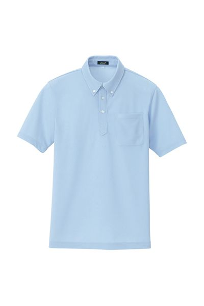 ニットボタンダウンポロシャツ(吸汗速乾)