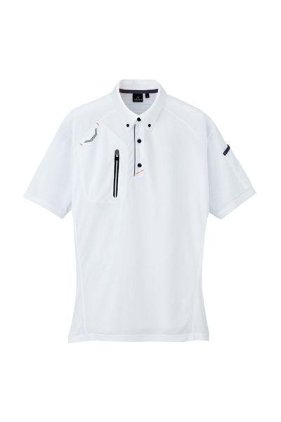 半袖ボタンダウンポロシャツ(男女兼用)