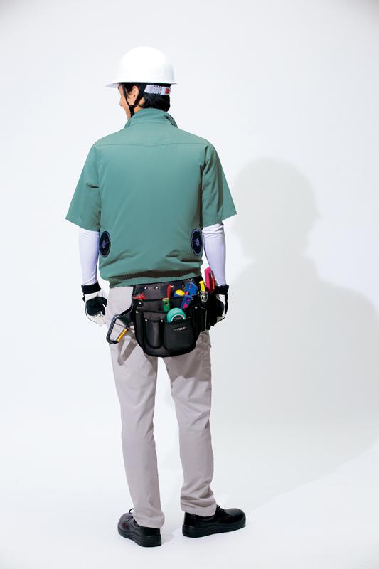 【空調服】半袖ブルゾン(男女兼用)単品