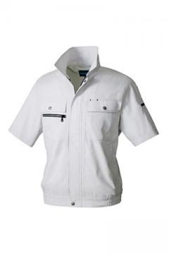ユニフォームや制服・事務服・作業服・白衣通販の【ユニデポ】半袖ブルゾン【規格外サイズ】