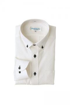 ユニフォームや制服・事務服・作業服・白衣通販の【ユニデポ】長袖ボタンダウンシャツ