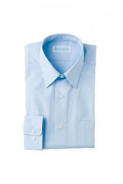 ユニフォームや制服・事務服・作業服・白衣通販の【ユニデポ】長袖カッターシャツ