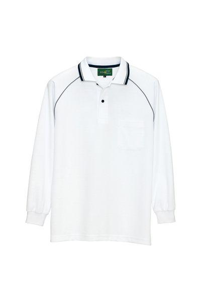 制電長袖ポロシャツ(男女兼用)