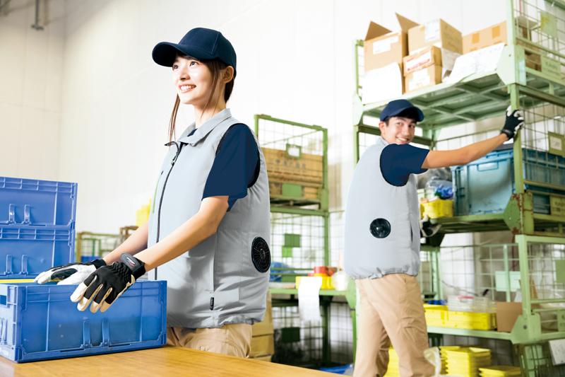 【空調服】ベスト(男女兼用)単品