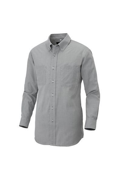 長袖ボタンダウンシャツ