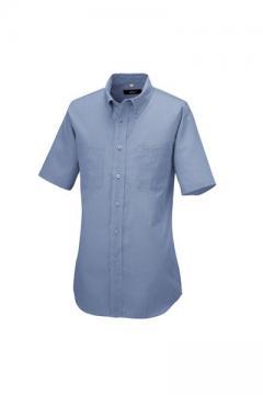 ユニフォームや制服・事務服・作業服・白衣通販の【ユニデポ】半袖ボタンダウンシャツ