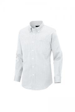 作業服の通販の【作業着デポ】長袖ボタンダウンシャツ
