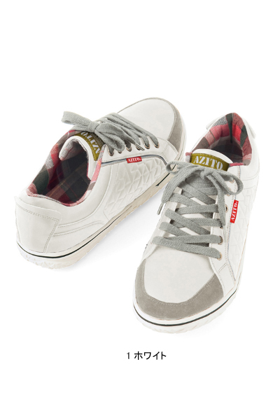 【AZITOアジト】セーフティシューズ(男女兼用・反射材付き) 安全靴
