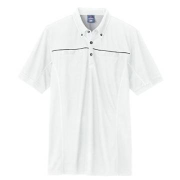 ユニフォームや制服・事務服・作業服・白衣通販の【ユニデポ】半袖ポロシャツ(男女兼用)